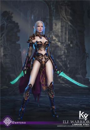 ACE Toyz Elf Female Soldier Burryna Black Standard Edition