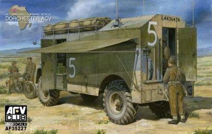 AFV 1/35 AEC Armoured Command Vehicle Dorchester ACV Model Kit