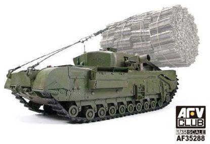 AFV 1/35 Churchill MK.IV Avre w/Fascine Carrier Frame Model Kit