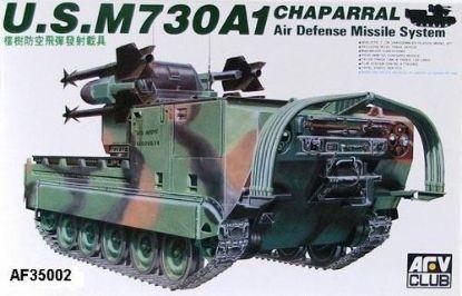 AFV 1/35 M730A1 Chaparral Model Kit