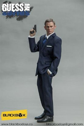 Black Box Toys Guess Me Series Agent James in Blue