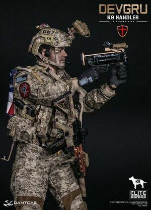 DAM Toys Devgru K9 Handler In Afghanistan With No Dog 1/6 Scale