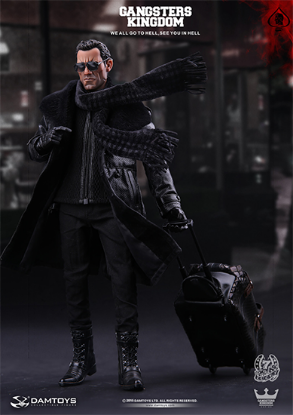 DAM Toys Gangsters Kingdom Spade 7 1/6 Figure
