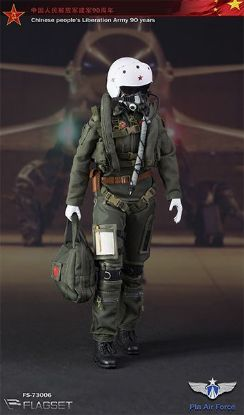 Flagset Chinese PLA Air Force Female Aviator
