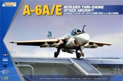 Kinetic 1/48 A-6 A/E Intruder Model Kit