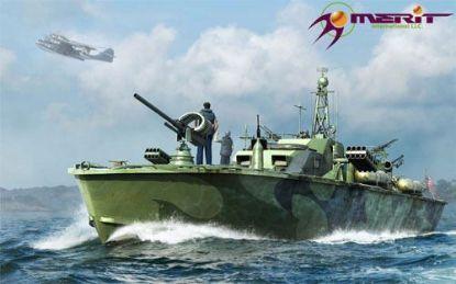 Merit 1/48 U.S. Navy Elco 80' Motor Patrol Boat Late Type Model Kit