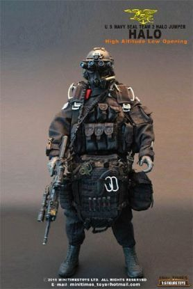 Mini Times U.S. Navy Seal Team 2 Halo Jumper 1/6 Scale