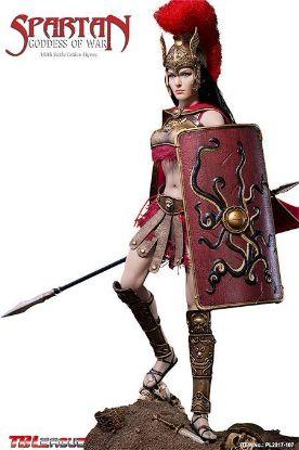 PHICEN LIMITED Athena Spartan Goddess of War