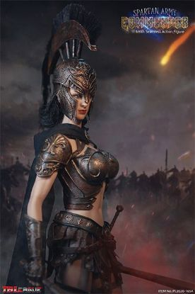Phicen Limited Black Spartan Army Commander