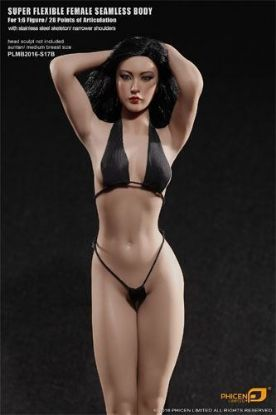 Phicen Limited Female Super Flexible Tan Seamless Body S17B