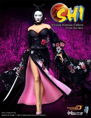 PHICEN LIMITED Shi in Kimono 1:6 Scale Collector Figure US Version
