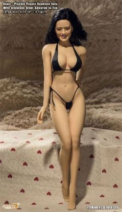 Phicen Limited Super Flexible Female Seamless Body Tan 1/6 Scale S05