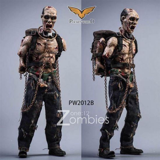 Pocket World 1/12 Zombies Version B