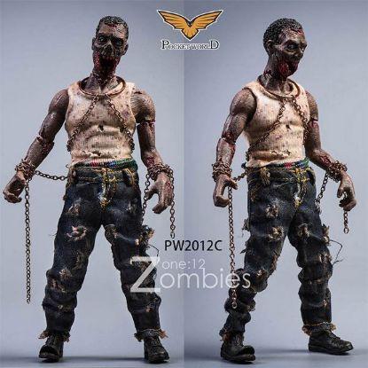 Pocket World 1/12 Zombies Version C