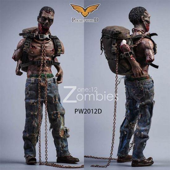 Pocket World 1/12 Zombies Version D