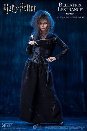 Star Ace Bellatrix Lastrange with Dobb  in Harry Potter and the Deathly Hallows