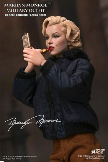 Star Ace Marilyn Monroe Military Outfit