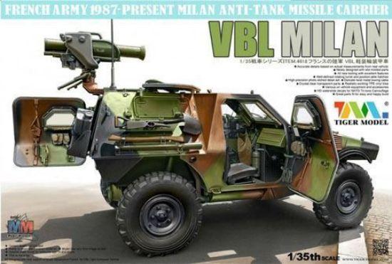 Tiger Models 1/35 French Panhard VBL w/Milan Missile Model Kit