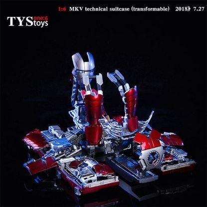 TYS Toys MKV Technical Suitcase