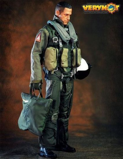 VeryHot US Navy VF-101 Grim Reapers Pilot Suit 1/6 Scale