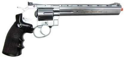 "Wingun Full Metal 8"" CO2 Revolver Silver"