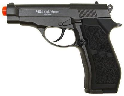 Wingun M84 Full Metal Co2 Non-Blowback Pistol Black