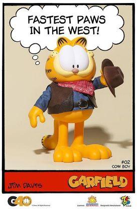 ZC World Garfield Master Series 02 Cowboy