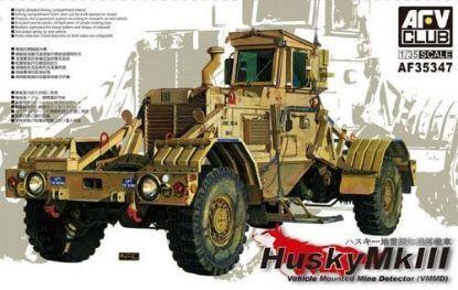 AFV 1/35 Husky Vehicle Mounted Mine Detector MKIII Model Kit