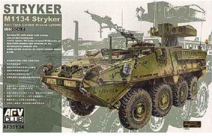 AFV 1/35 M1134 Stryker Anti-Tank Guided Missile ATGM Model Kit