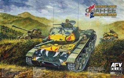 AFV 1/35 M24 Chaffee Tank Korea War Ver