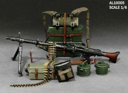 Alert Line 1/6 MG34 Machine Gun Suits
