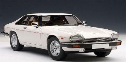 Autoart 1/18 Jaguar XJ-S Coupe Die Cast Car White