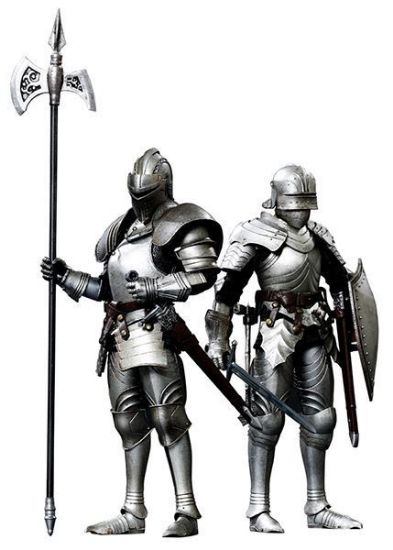 Coo Model 1:12 Bodyguard Knight Double Figure Set