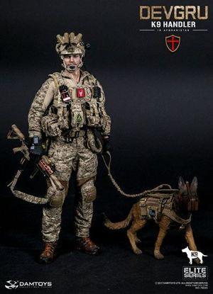 DAM Toys Devgru K9 Handler In Afghanistan 1/6 Scale