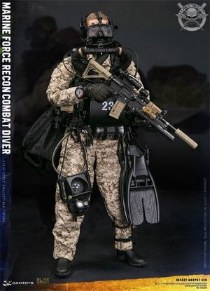 DAM Toys Marine Force Recon Combat Diver Desert Marpat Version