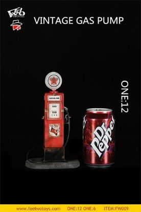 Feel Wo Toys Vintage Gas Pump 1/12 Scale