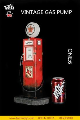 Feel Wo Toys Vintage Gas Pump 1/6 Scale