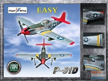 Flight Wings 1/18 P-51D WWII USAF 352nd Fighter Group Easy