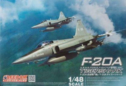 Freedom 1/48 F-20A Tiger Shark Model Kits