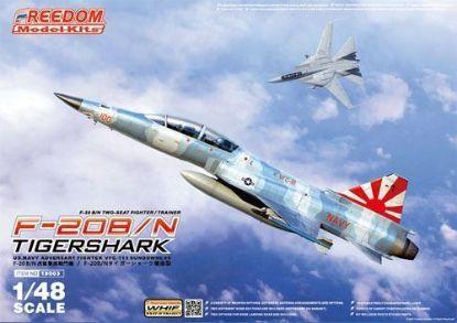 Freedom 1/48 F-20B/N Tiger Shark 2 Seater Fighter Trainer Model Kits