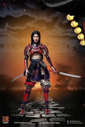 i8Toys Female Samurai RIN Red Armor Version