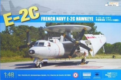 Kinetic 1/48 E-2C French Model Kit