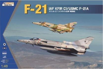 Kinetic 1/48 IAF Keirr C1/USMC F-21A Model Kit