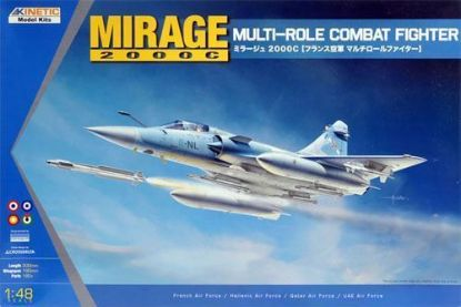 Kinetic 1/48 Mirage 2000C Model Kit