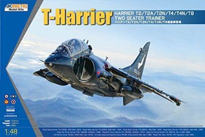 Kinetic 1/48 T-Harrier T2 T2A T2N T4 T4N T8 Two Seater Trainer