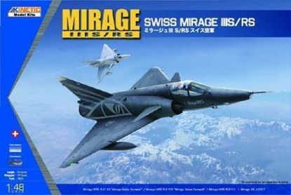 Kinetic Models 1/48 Mirage Swiss IIIS/RS Model Kits