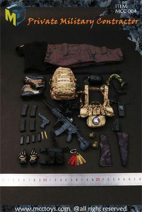 MC Toys Private Military Contractor 1/6 Accessories