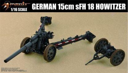 Merit 1/16 German 15cm S.F.H. 18cm Howitzer Model Kit