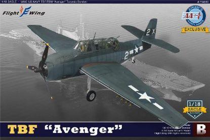 Merit Flight Wings 1/18 TBF Avenger X2 VT-51 USS San Jacinto 1944 Lt. George Bush
