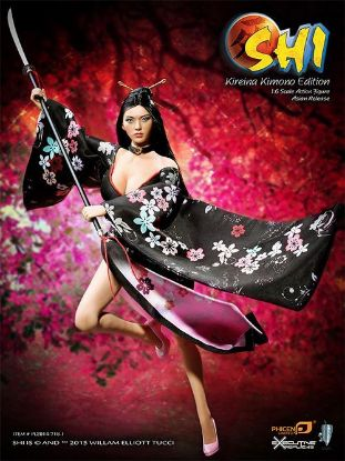 PHICEN LIMITED Shi in Kimono 1:6 Scale Collector Figure Asia Version